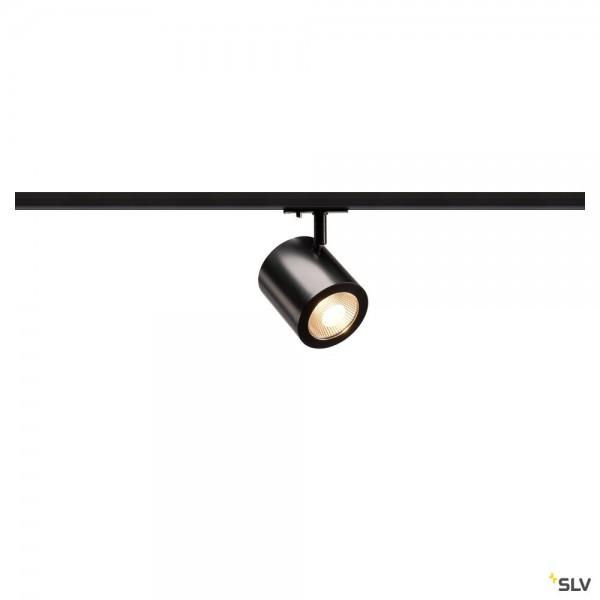 SLV 1000711 Enola_C, 1 Phasen, Strahler, schwarz, LED, 11W, 3000K, 900lm, 35°