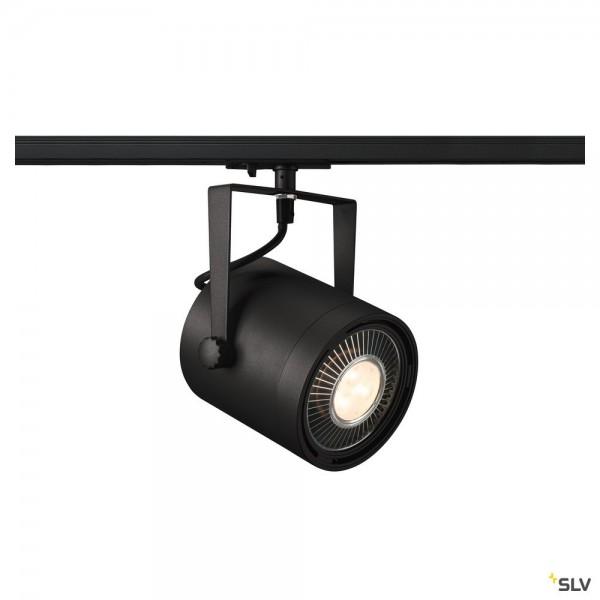 SLV 1001860 Euro Spot, 1Phasen, Strahler, schwarz, QPAR111, GU10, max.75W