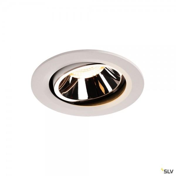 SLV 1003666 Numinos Move L, Deckeneinbauleuchte, weiß, LED, 25,41W, 3000K, 2200lm, 40°