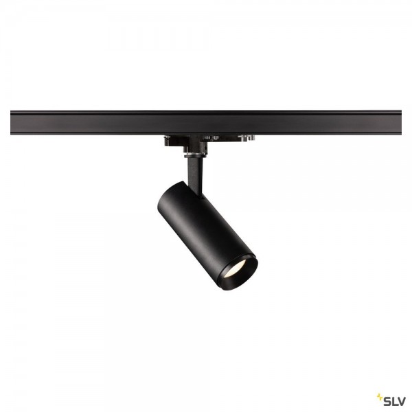SLV 1004379 Numinos S, 3Phasen, Strahler, schwarz, dimmbar Dali, LED, 10,42W, 4000K, 1100lm, 36°