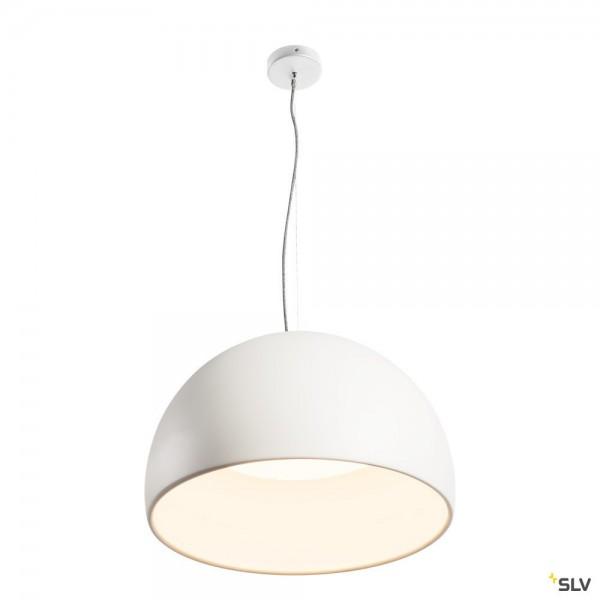 SLV 133891 Bela 60, Pendelleuchte, weiß, LED, 31W, 3000K, 1850lm