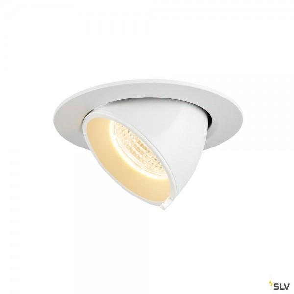 SLV 1002879 Gimble In 68, Deckeneinbauleuchte, weiß, LED, 6W, 3000K, 520lm