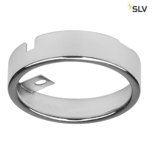 SLV 112185 Aufbaurahmen, Stahl, metall gebürstet, DL 126