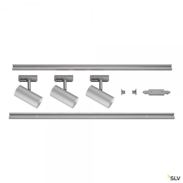 SLV 1002612 Noblo Set, 1 Phasen, Strahler, grau, LED, 22,5W, 2700K, 1860lm