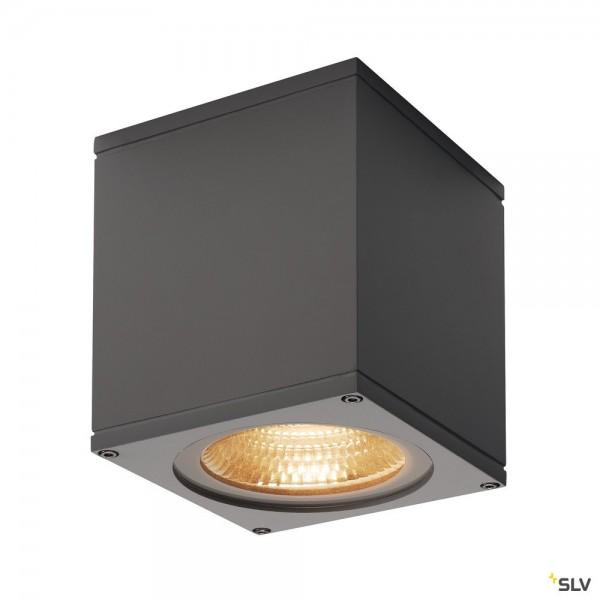 SLV 234535 Big Theo Ceiling, Deckenleuchte, anthrazit, IP44, LED, 21W, 3000K, 2000lm