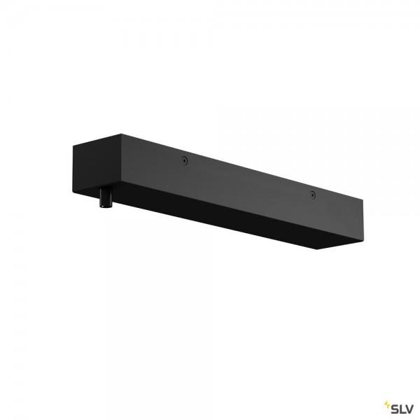 SLV 1001803 H-Profil, Rosette, schwarz