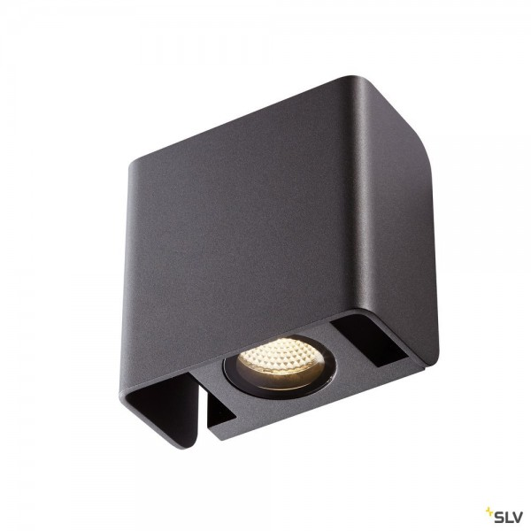 SLV 1002900 Mana Out, Wandleuchte, up&down, anthrazit, IP65, dimmbar C+L, LED, 12W, 3000K, 650lm
