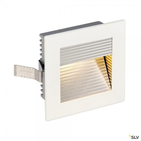 SLV 113292 Frame Curve, Wandeinbauleuchte, weiß matt, LED, 1W, 3000K, 60lm