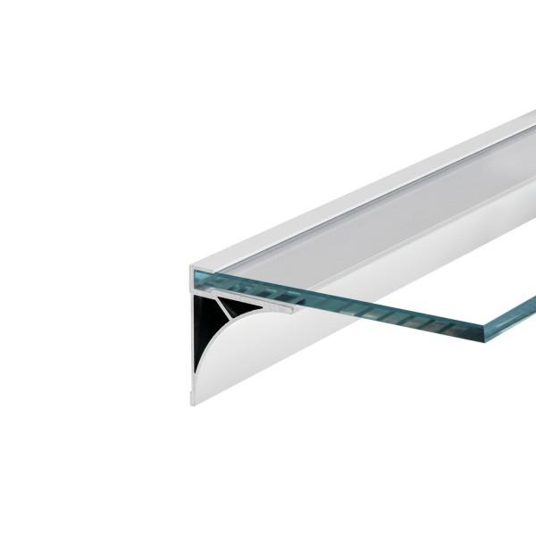 SLV 213551 Glenos, Regalprofil, weiß matt, B/H/L 6x6,9x200cm, LED Strips max.B.1cm