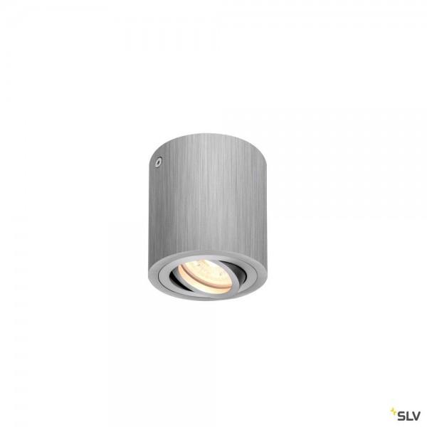 SLV 1002012 Triledo Round, Deckenleuchte, alu gebürstet, LED GU10, max.10W