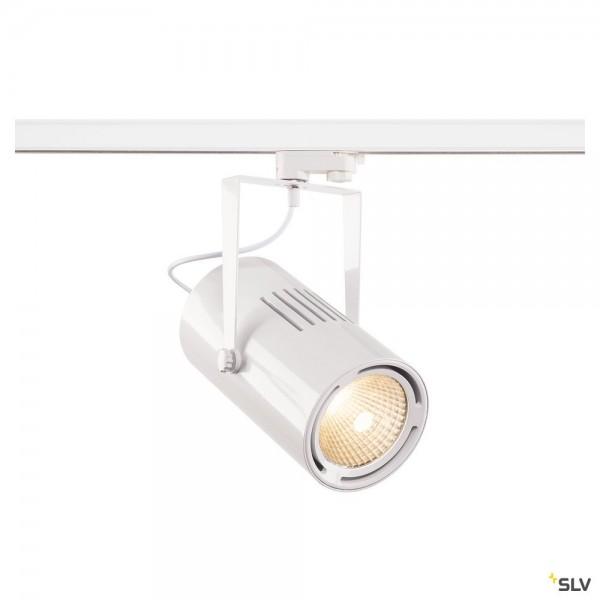 SLV 1001482 Euro Spot, 3Phasen, Strahler, weiß, LED, 61W, 3000K, 5500lm, 60°