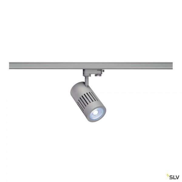 SLV 1001000 Structec, 3Phasen, Strahler, silbergrau, LED, 35W, 4000K, 3450lm, 36°