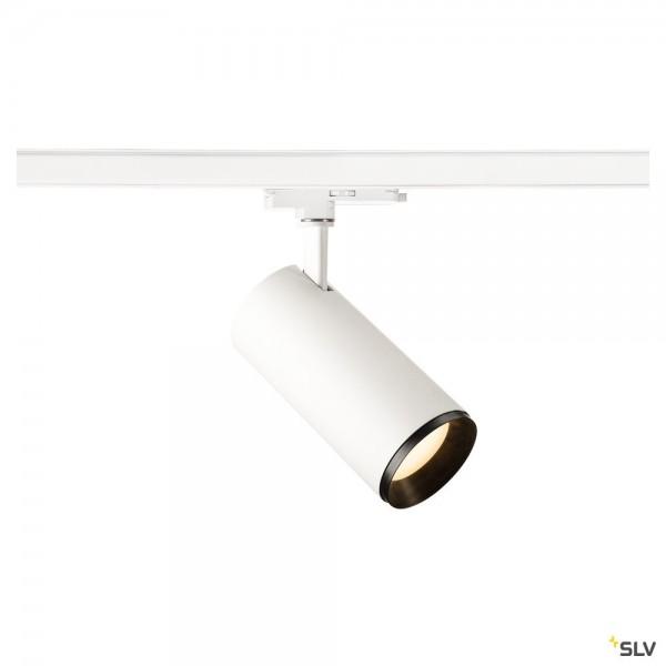 SLV 1004567 Numinos L, 3 Phasen, Strahler, weiß/schwarz, dimmbar Dali, LED, 28W, 3000K, 2340lm, 36°