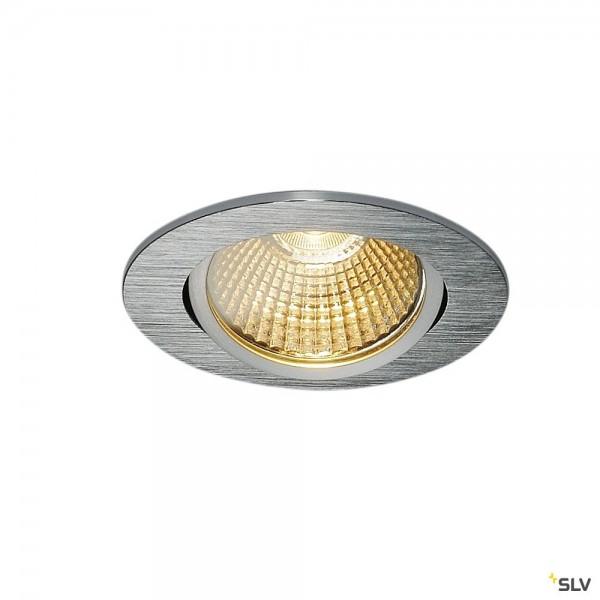 SLV 1001990 New Tria, Deckeneinbauleuchte, Dim to Warm C+L, LED, 7,3W, 1800K-3000K, 440lm