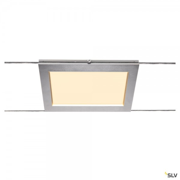 SLV 1002866 Plytta, Seilsystem, Strahler, chrom, LED, 9W, 2700K, 580lm