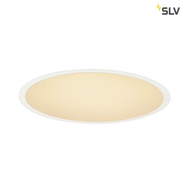 SLV 1000861 Medo 40, Deckeneinbauleuchte, weiß, dimmbar 1-10V, LED, 29W, 3000K, 2000lm