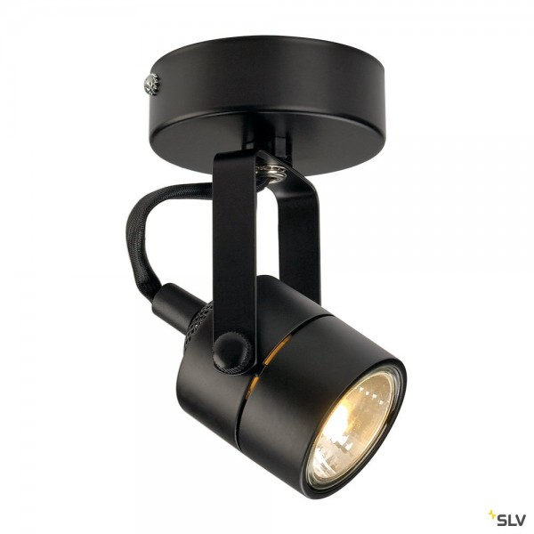 SLV 132020 Spot 79, Strahler, schwarz, QPAR51, GU10, max.50W