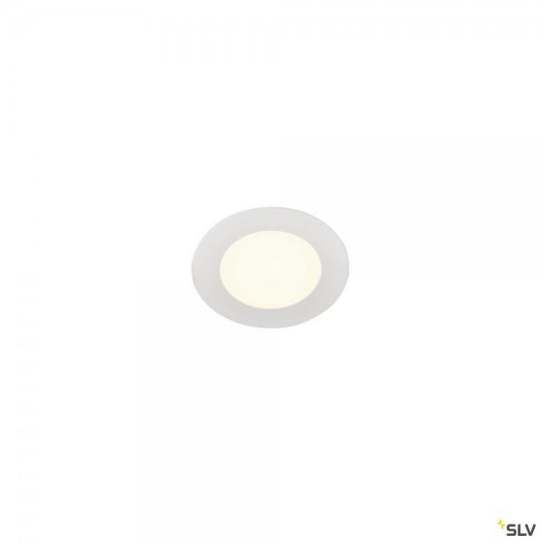 SLV 1004694 Senser 12, Deckeneinbauleuchte, weiß, LED, 6W, 4000K, 470lm