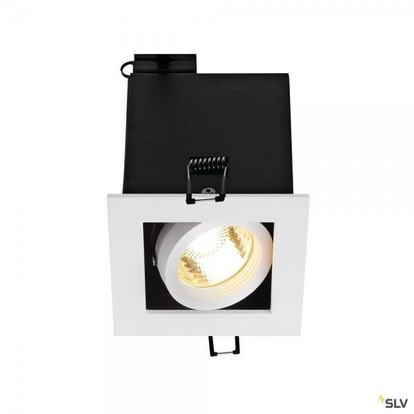 SLV 115511 Kadux 1, Deckeneinbauleuchte, weiß matt, QPAR51, GU10, max.50W