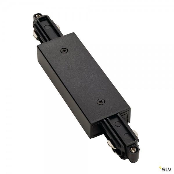 SLV 143100 1 Phasen, Aufbauschiene, Längsverbinder, schwarz
