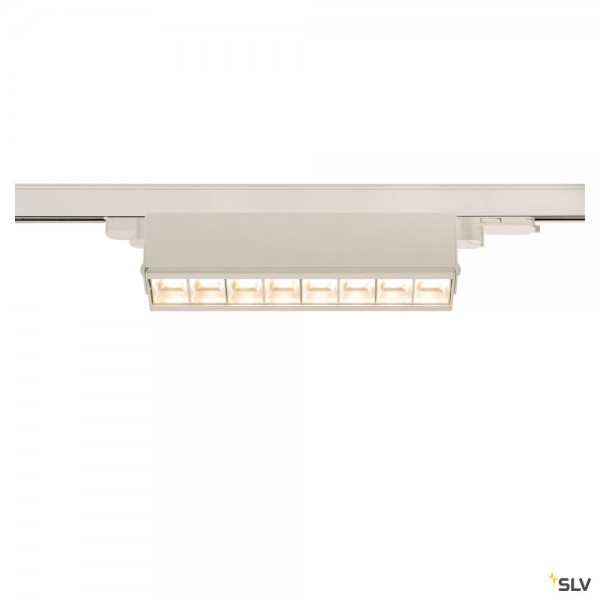 SLV 1004691 Sight Move, 3Phasen, Strahler, weiß, dimmbar Dali, LED, 26W, 3000K, 2700lm