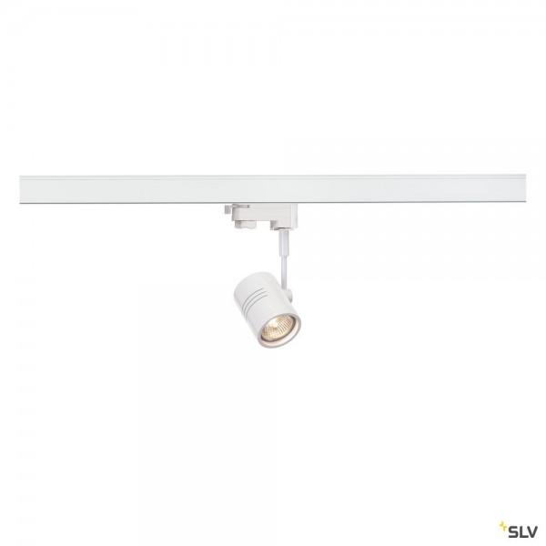 SLV 152241 Bima 1, 3Phasen, Strahler, weiß matt, QPAR51, GU10, max.50W