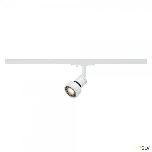 SLV 143391 Puri, 1 Phasen, Strahler, weiß, QPAR51, GU10, max.50W