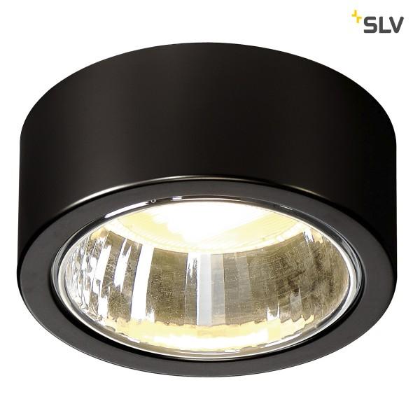 SLV 1002019 CL 101, Deckenleuchte, schwarz, GX53, max.11W