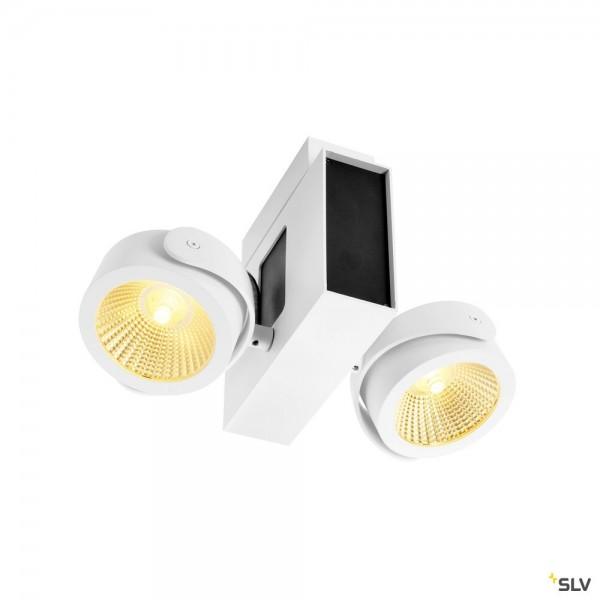 SLV 1001432 Tec Kalu, Strahler, weiß, dimmbar Triac C, LED, 31W, 3000K, 1900lm, 24°