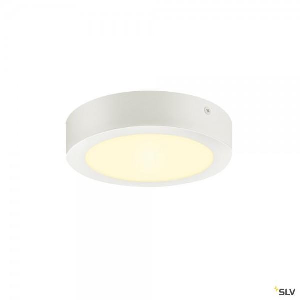 SLV 1003015 Senser 18 Wand- und Deckenleuchte, weiß, dimmbar Triac C, LED, 12W, 3000K, 880lm