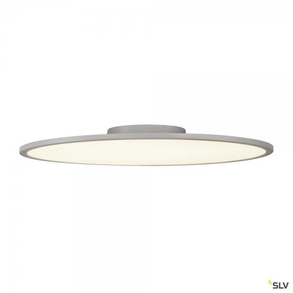 SLV 1000786 LED Panel 60 Round, Deckenleuchte, silbergrau, dimmbar Triac C, LED, 42W, 4000K, 3350lm