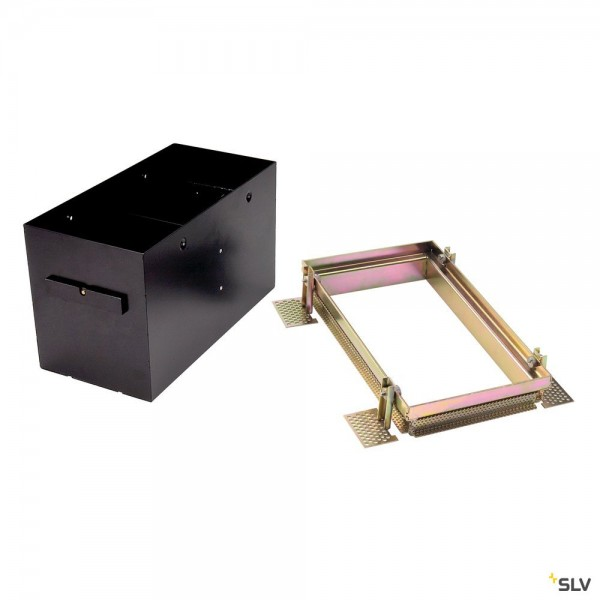 SLV 115152 Einbaurahmen 2 Frameless, schwarz, Aixlight Pro®
