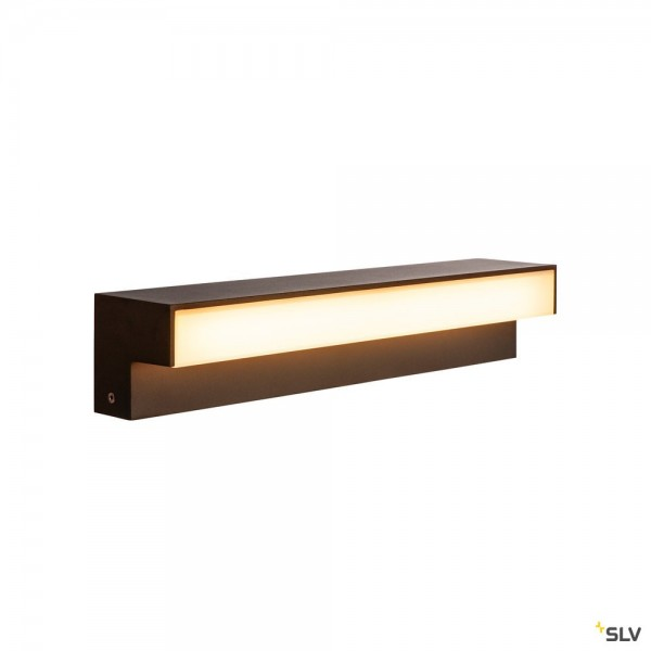 SLV 1003535 L-Line Out 60, Standleuchte, anthrazit, IP65, LED, 11,5W, 3000/4000K, 800lm