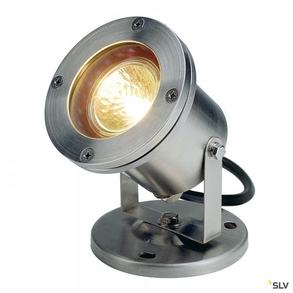 SLV 229090 Nautilus, Strahler, Edelstahl, IP67, GX5.3, max.35W