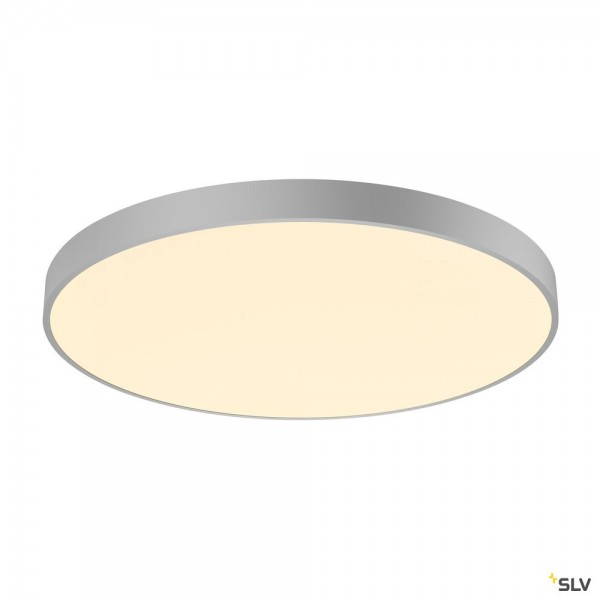 SLV 1001892 Medo 90 CL Ambient, Deckenleuchte, grau, dimmbar Dali, LED, 78W, 3000K/4000K, 10255lm