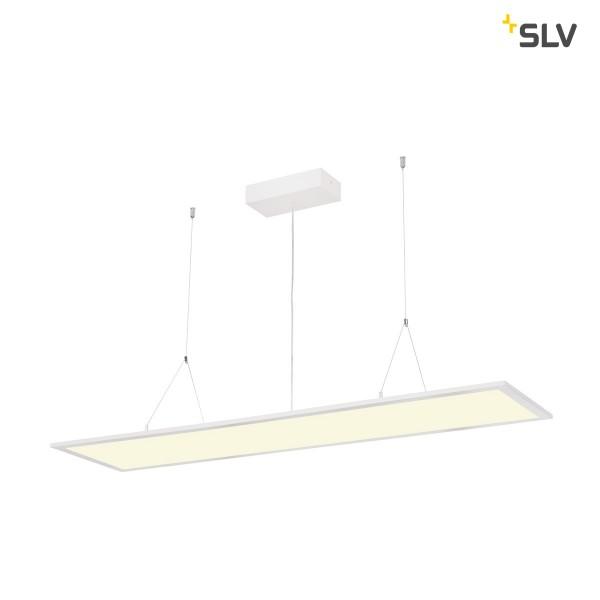 SLV 1001448 I-Pendant Pro, Pendelleuchte, weiß, dimmbar 1-10V, LED, 42W, 4000K, 3800lm