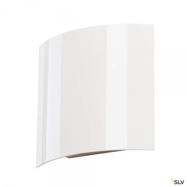 SLV 151601 LED Sail 1, Wandleuchte, weiß glänzend, LED, 3,5W, 3000K, 140lm