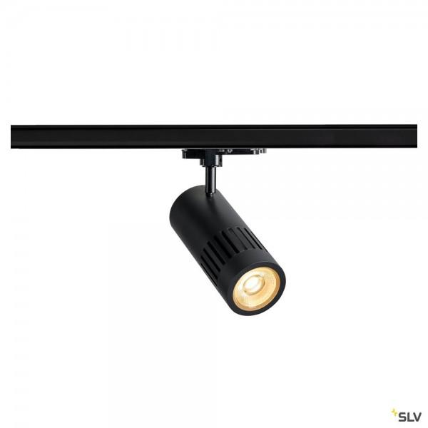 SLV 1003024 Structec, 3Phasen, Strahler, schwarz, dimmbar Dali, LED, 29W, 3000K, 2500lm
