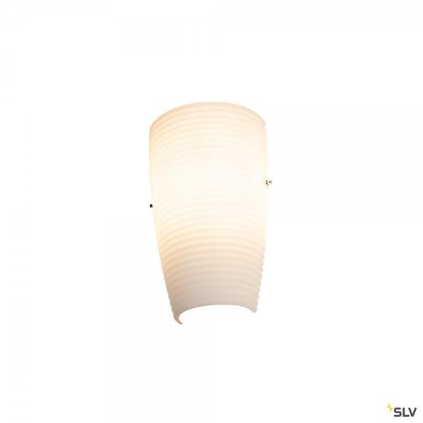 SLV 1002993 Purisa, Wandleuchte, weiß/milchig, E27, max.40W