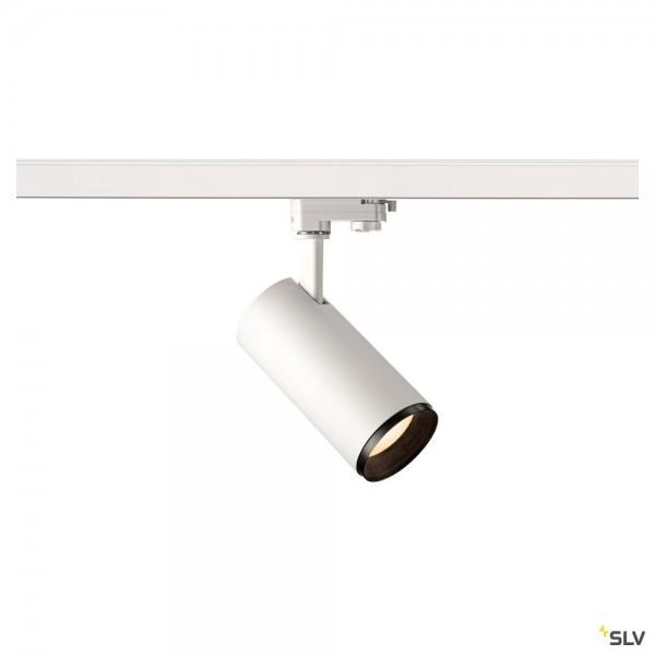 SLV 1004184 Numinos M, 3Phasen, Strahler, weiß/schwarz, dimmbar C, LED, 20,1W, 3000K, 1870lm, 60°