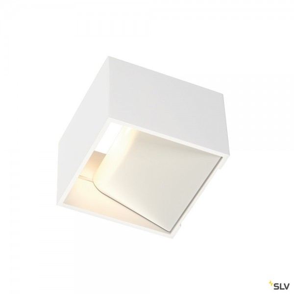 SLV 151321 Logs In, Wandleuchte, weiß, up&down, LED, 6,7W, 3000K, 300lm