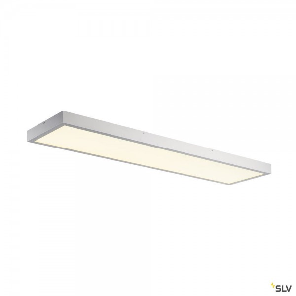 SLV 1001509 LED Panel, Deckenleuchte, silbergrau, dimmbar Triac C, LED, 45W, 4000K, 3400lm