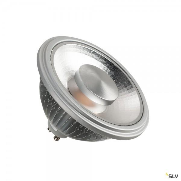 SLV 1003094 Leuchtmittel, chrom, dimmbar Triac C, QPAR111, GU10, LED, 13W, 2700K, 840lm, 55°