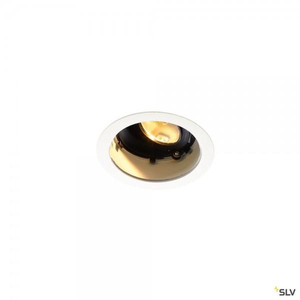 SLV 1001841 Renisto, Deckeneinbauleuchte, weiß, dimmbar Triac C+L, LED, 16W, 3000K, 900lm