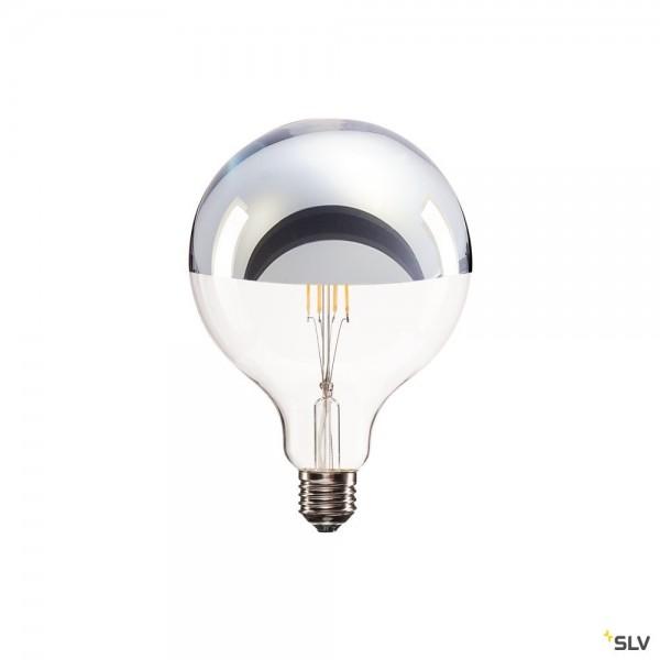 SLV 1001357 Spiegelkopflampe, Leuchtmittel, dimmbar C+L, E27, LED, 7W, 2700K, 630lm