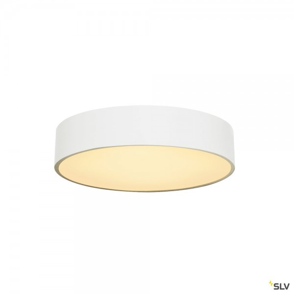 SLV 135071 Medo 40, Deckenleuchte, weiß, dimmbar Triac C+L, LED, 31W, 3000K, 2125lm