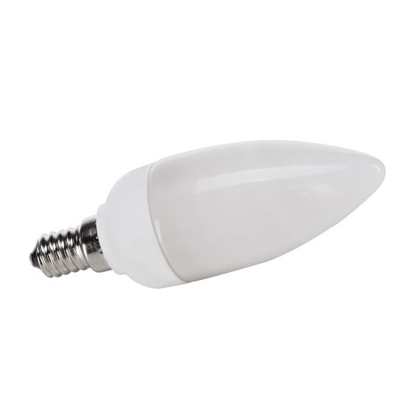 SLV 508840 Energiesparlampe, weiß, E14, 9W, 3000K, 420lm