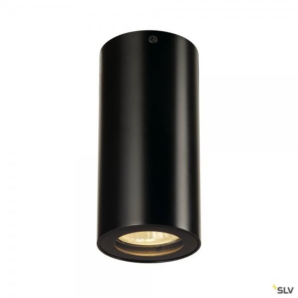 SLV 151810 Enola_B CL-1, Deckenleuchte, schwarz, QPAR51, GU10, max.35W