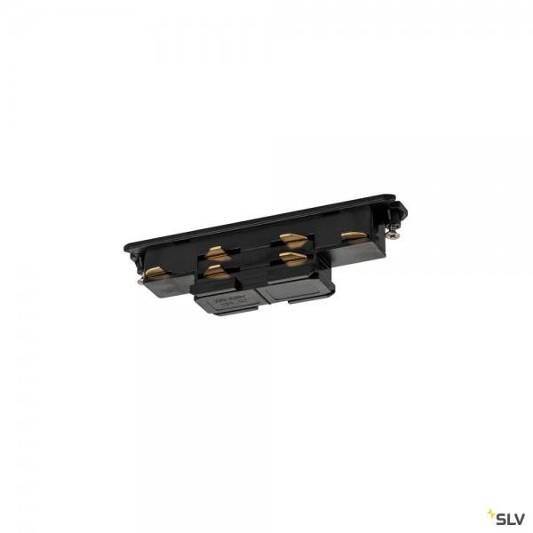 SLV 1002641 3Phasen, S-Track Dali, Aufbauschiene, Verbinder, schwarz