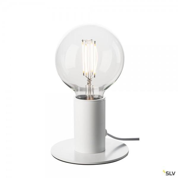 SLV 1001677 Fitu, Tischleuchte, weiß, LED E27, max.10W